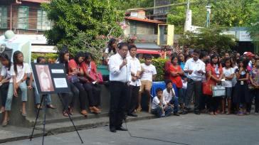 Tagudin Mayor Honoring Navarro